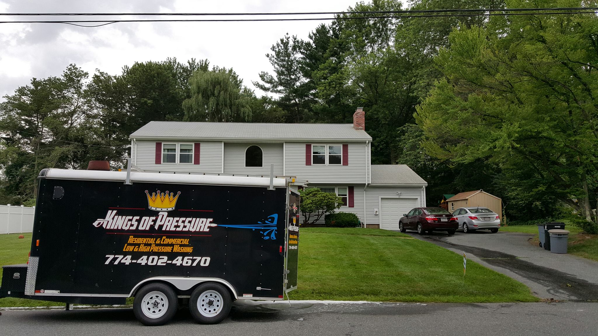 pressure washing West Boylston
